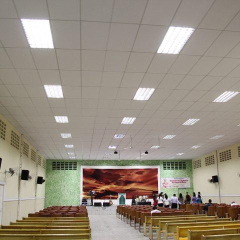 Placa Forro Falso Igreja Fortaleza-CE