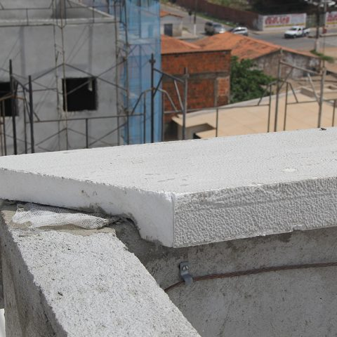 Moldura Externa EPS Decorativa Edifício Residencial Fortaleza-CE