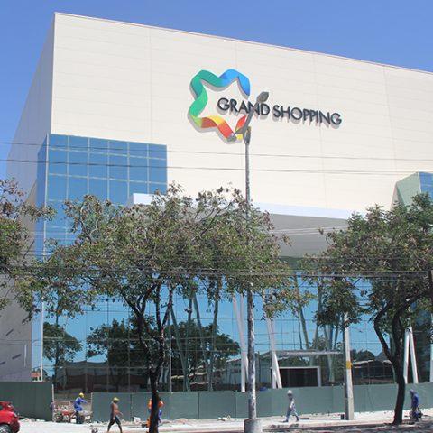 Bloco EPS para aumento de nível em laje – Cinemas Grand Shopping Messejana